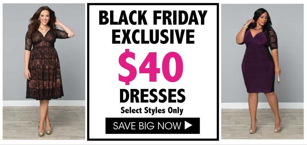 Black Friday Exclusive Savings on Plus Size Dresses