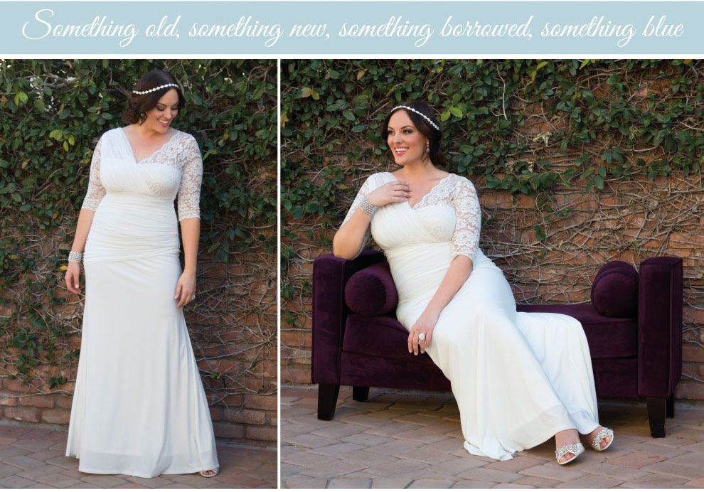 Elegant Plus Size Wedding Dress