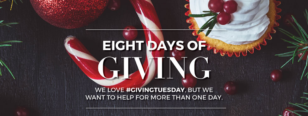 Eight Days of Giving