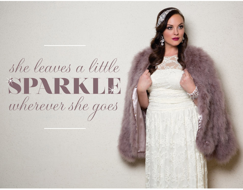Luxurious Wedding Gowns for Plus Size