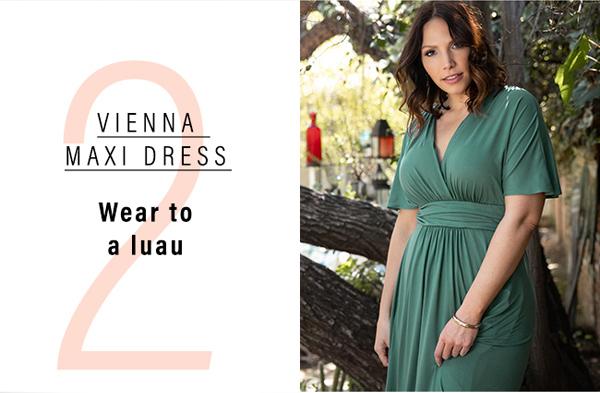 2. Vienna Maxi Dress | Wear to a luau