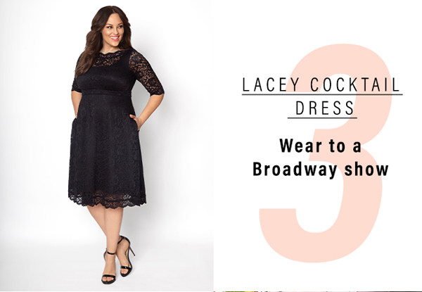 Lacey Cocktail Dress | Wear to a Broadway show
