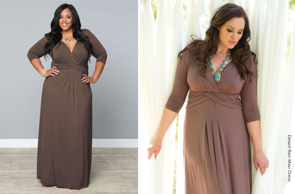 Plus Size Long Dresses for Summer
