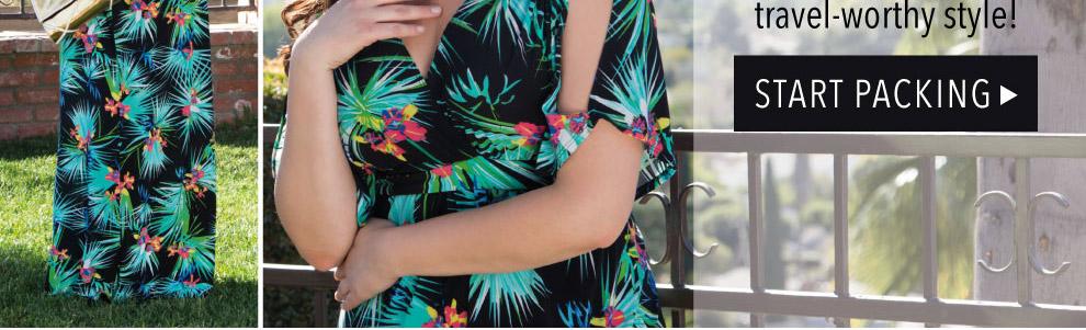 Plus Size Wrinkle Resistant Dresses
