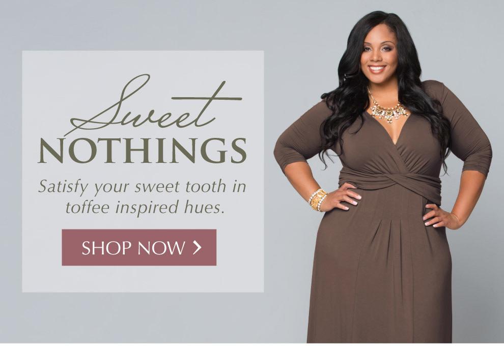 Plus Size Dresses in Neutral colors