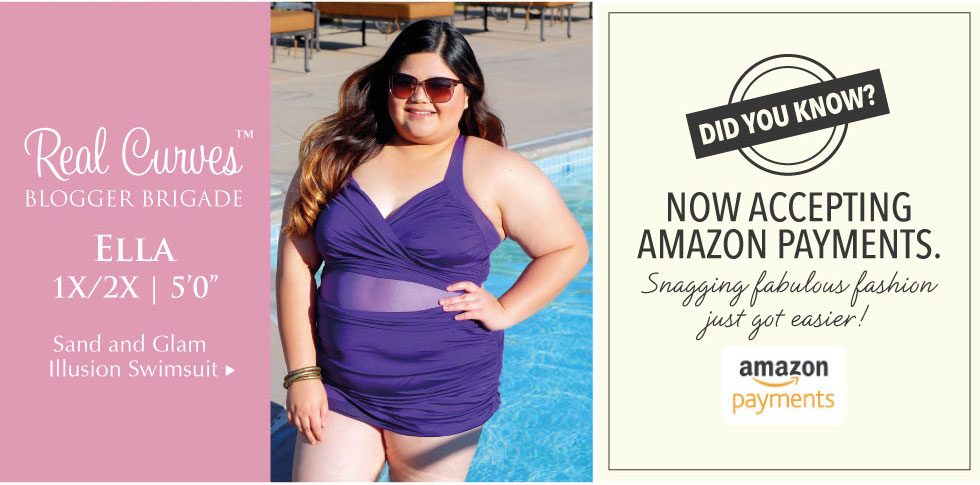 Real Curves Plus size Swimsuit