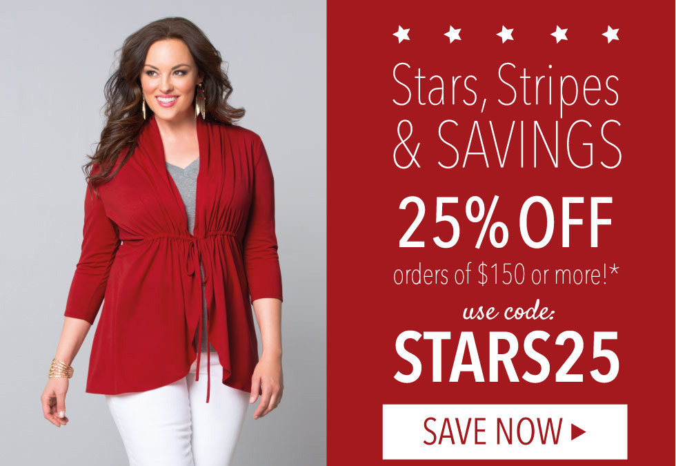 Plus Size Clothing Memorial Day Deals