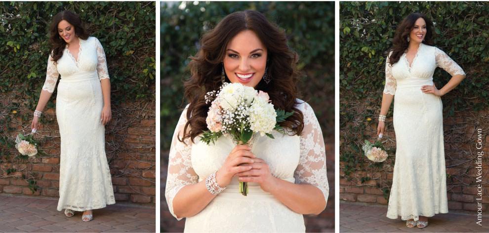 Wedding Dresses for Plus Size Brides