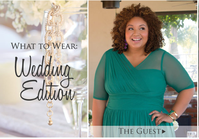What to wear to a wedding for plus size
