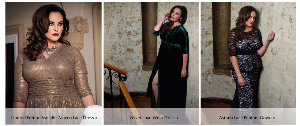 Plus Size special occasion dresses with Sleeves