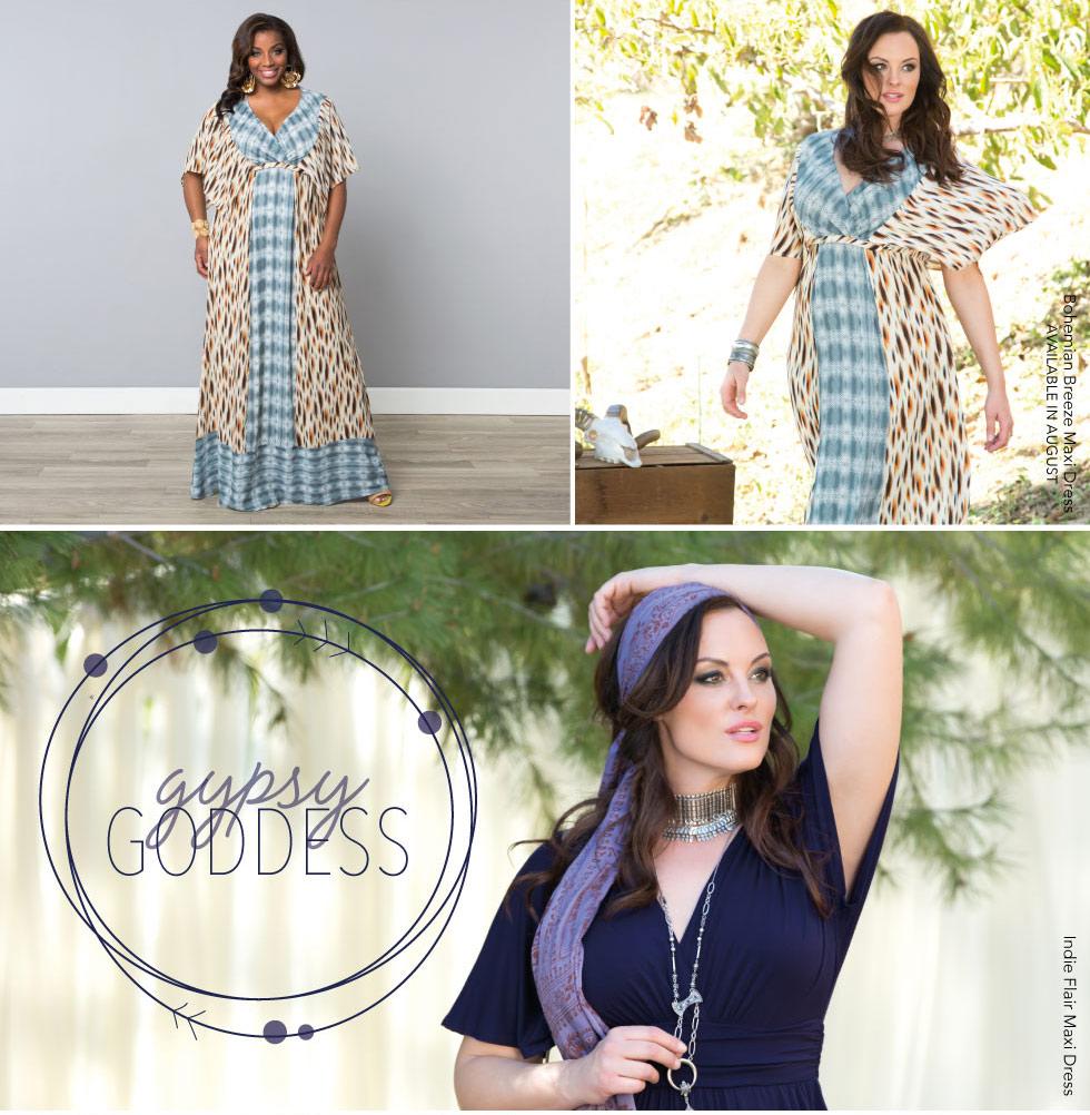Plus Size Maxi Dress | Bohemian Summer Style