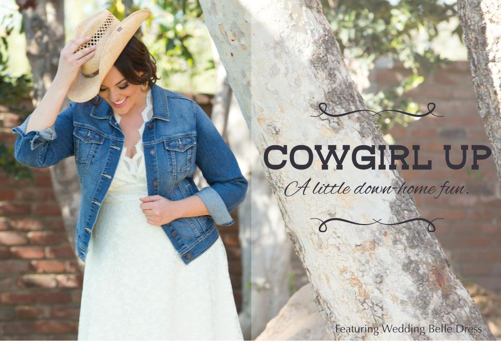 Plus Size Wedding Style | Western Bride