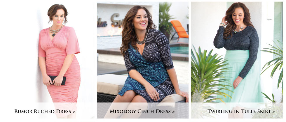 Plus size special occasion dresses and separates