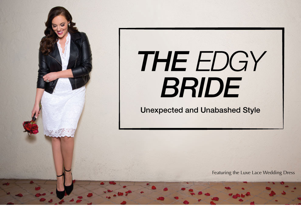 Plus Size Wedding Style | Edgy Bride