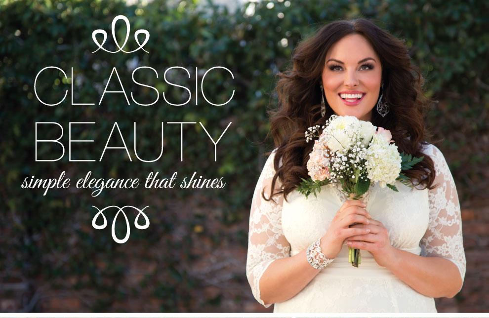 Plus Size Wedding Style | Classic Bride