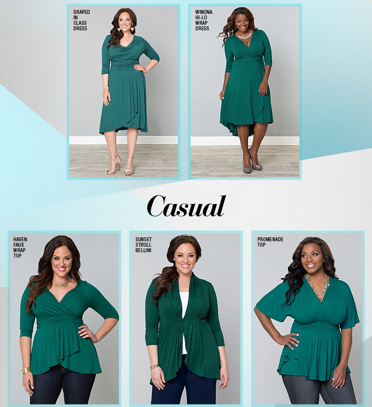 Causal separates and dresses in Jade