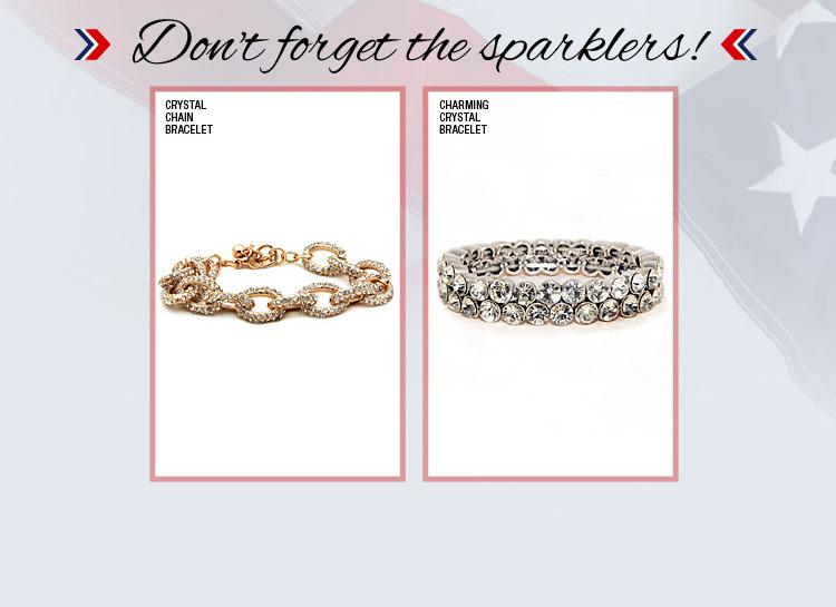 Sparkly Braceletts from Kiyonna