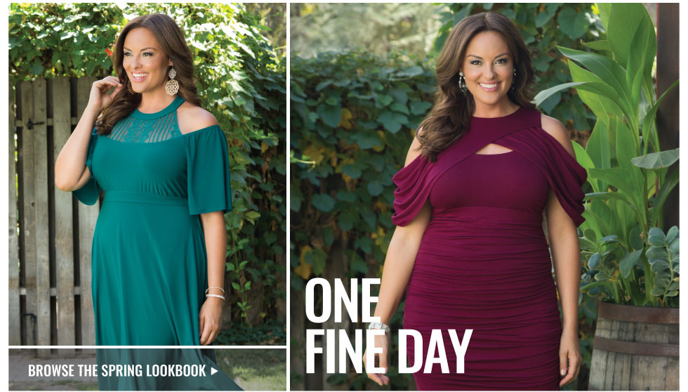 Plus Size Spring Dresses and Tops