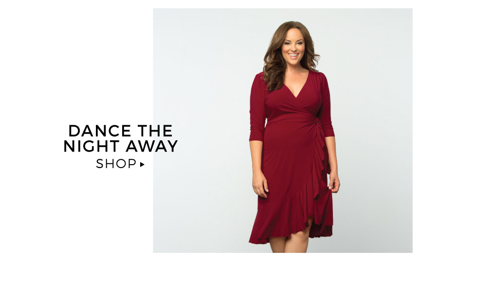 plus size cocktail dresses in red