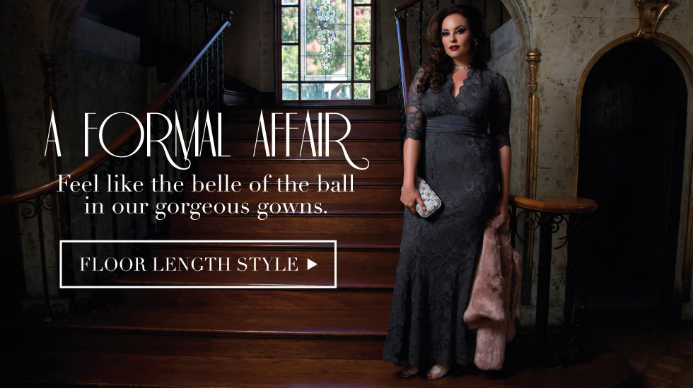 Plus Size Elegant Gowns