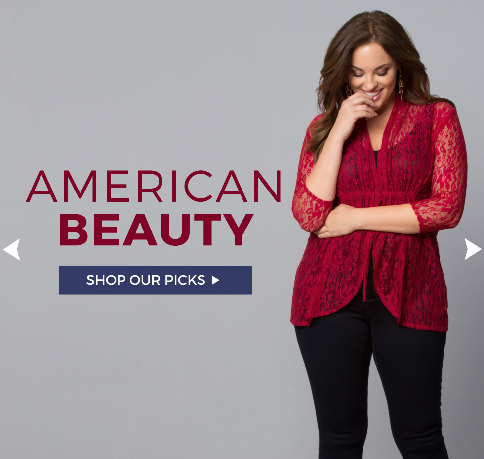 Plus Size outfit ideas for the Fourth of July!