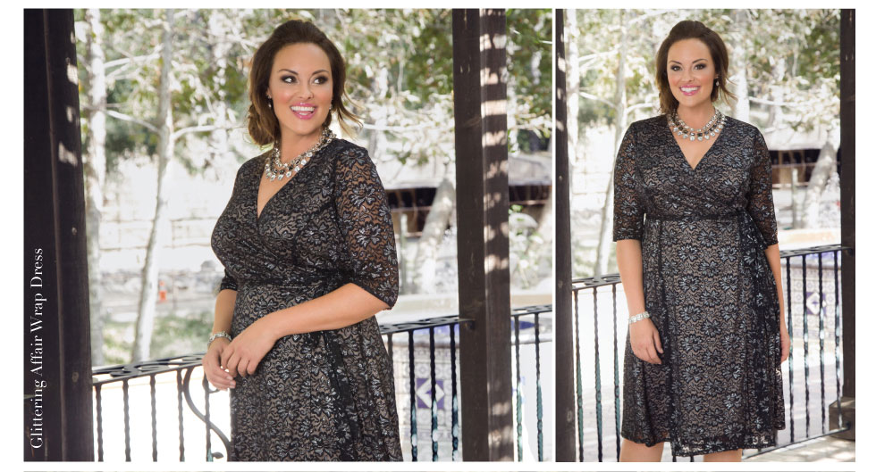 Plus Size Party Dresses with sleeves
