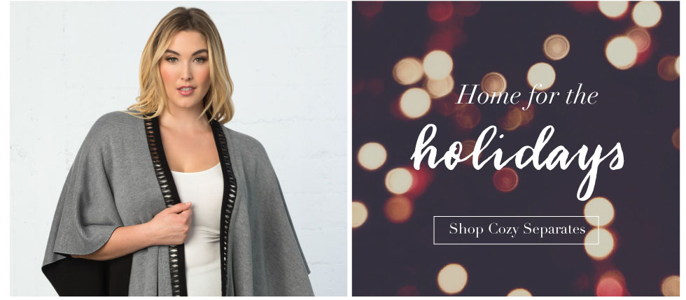 Plus Size Holiday Separates