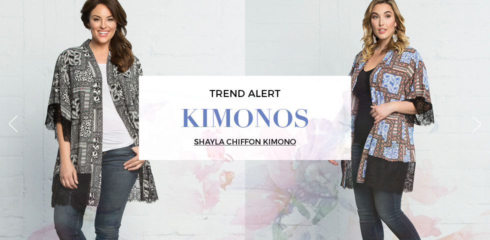 Plus Size Kimonos for women