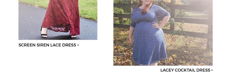 Plus Size Lace Dresses