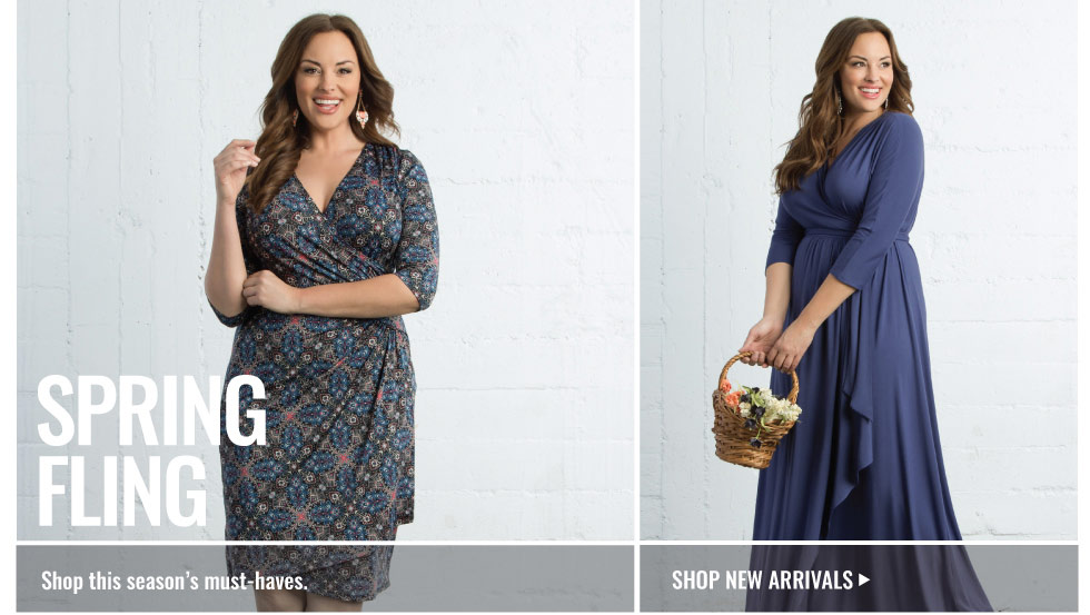 plus size dresses and tops for spring