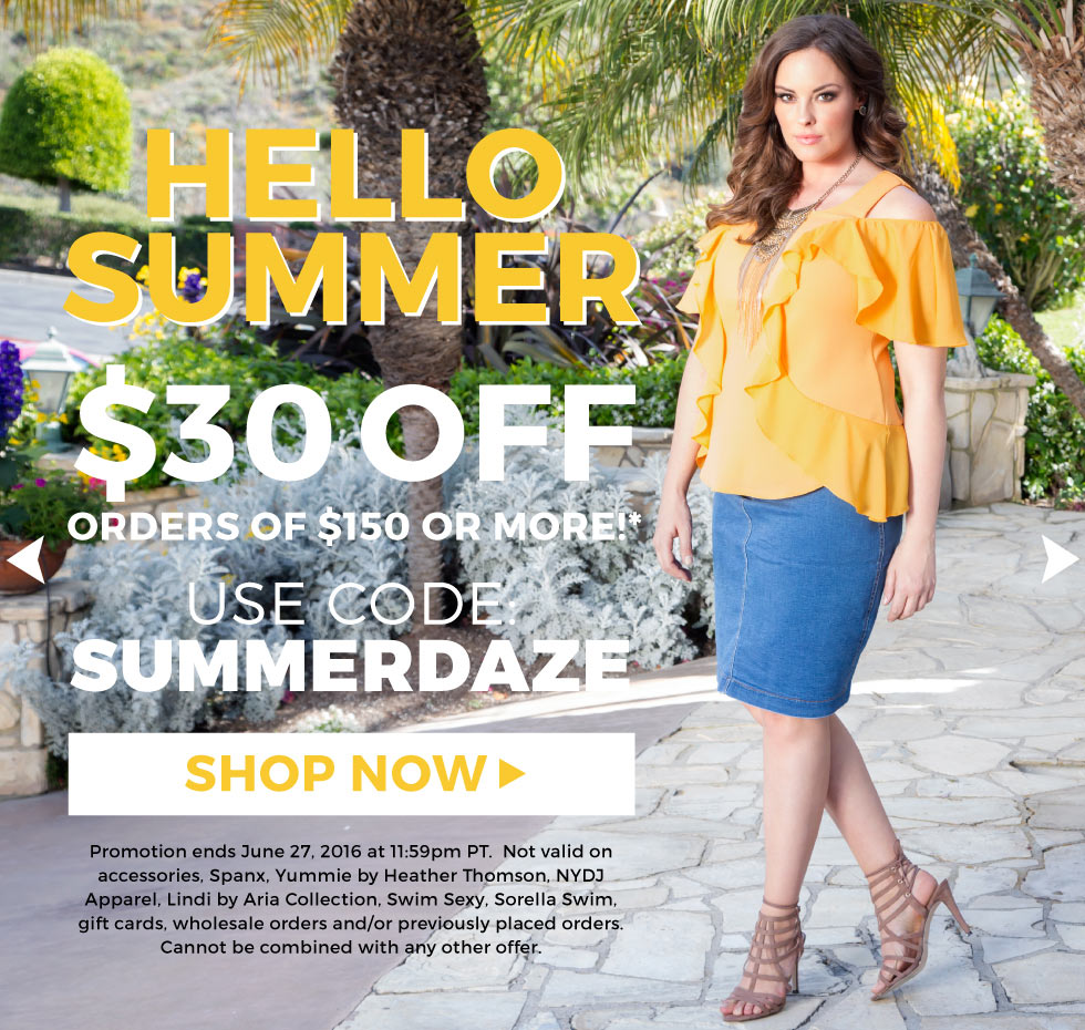 Plus Size Summer Dresses and Tops