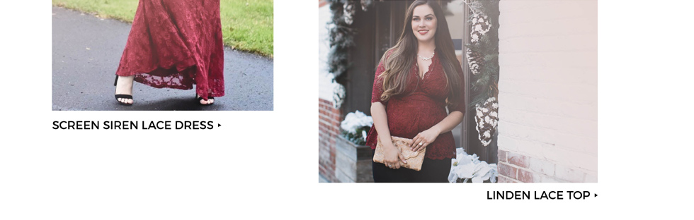 Plus Size Lace Dresses and tops