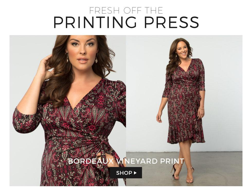 Plus Size Dresses in Prints