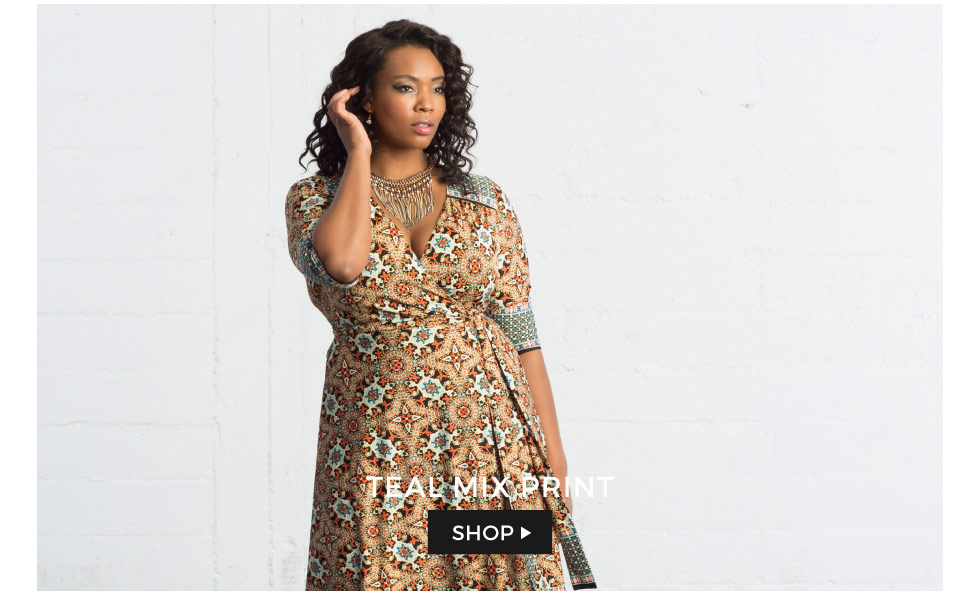 Plus Size Clothing in Abstract Prints
