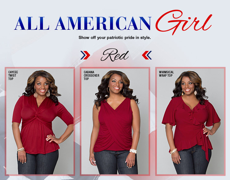 Red Plus Size Styles