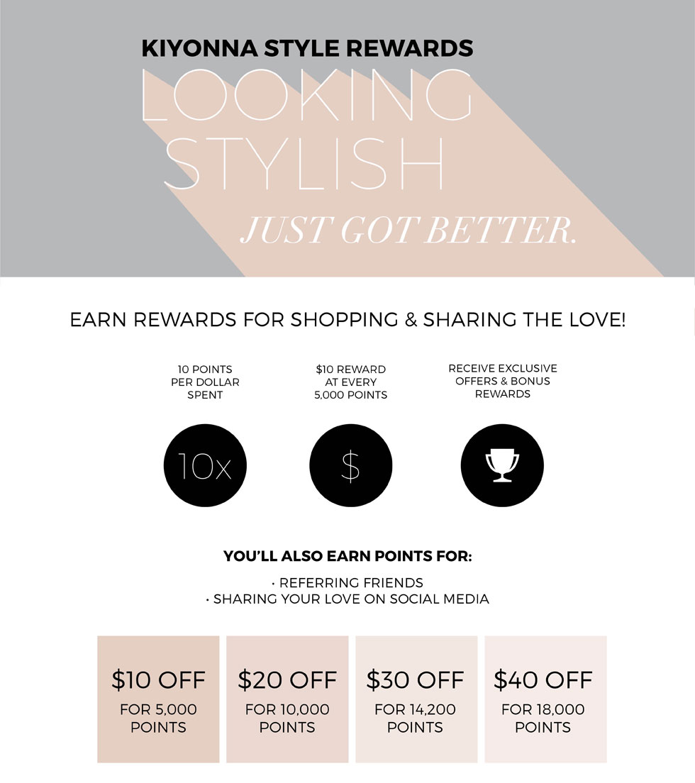 Kiyonna Style Rewards