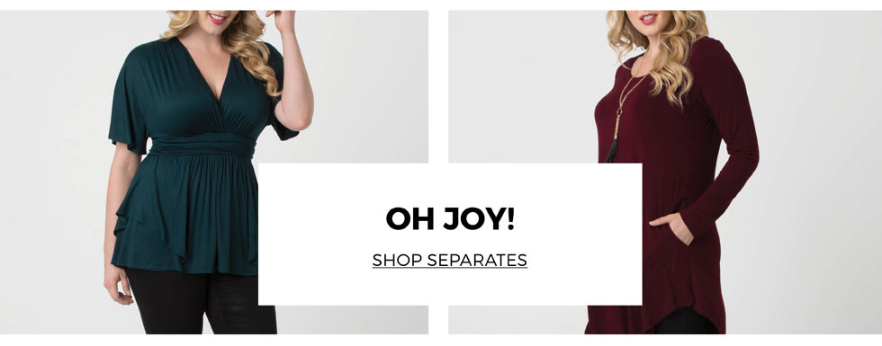 Plus size tops for holiday parties