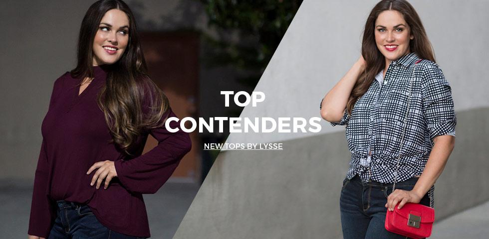 women's plus size tops