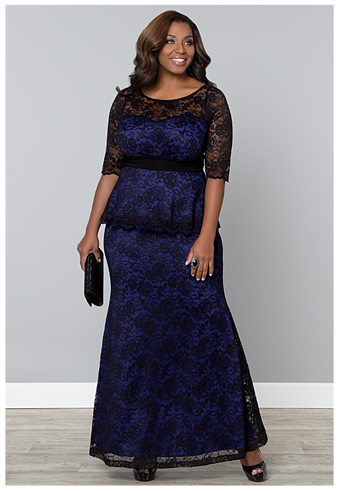 244073610c5 ASTORIA LACE PEPLUM GOWN. RUMOR RUCHED DRESS. Plus-Size -Wedding-Guest-Dresses-semiformal