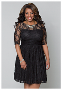 luna lace wedding guest dresses | Kiyonna