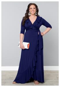 maxi wedding guest dresses | Kiyonna
