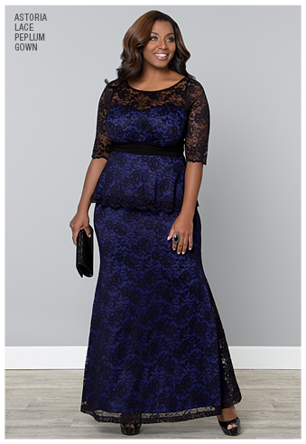 What dress to wear plus size wedding guest kiyonna plus for Plus size guest of wedding dresses