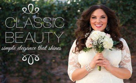 Plus Size Bridal Style Classic