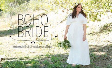 Plus Size Bridal Style Boho