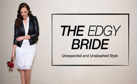 Plus Size Bridal Style Edgy