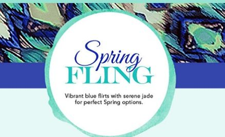 Blue and Jade Spring Styles