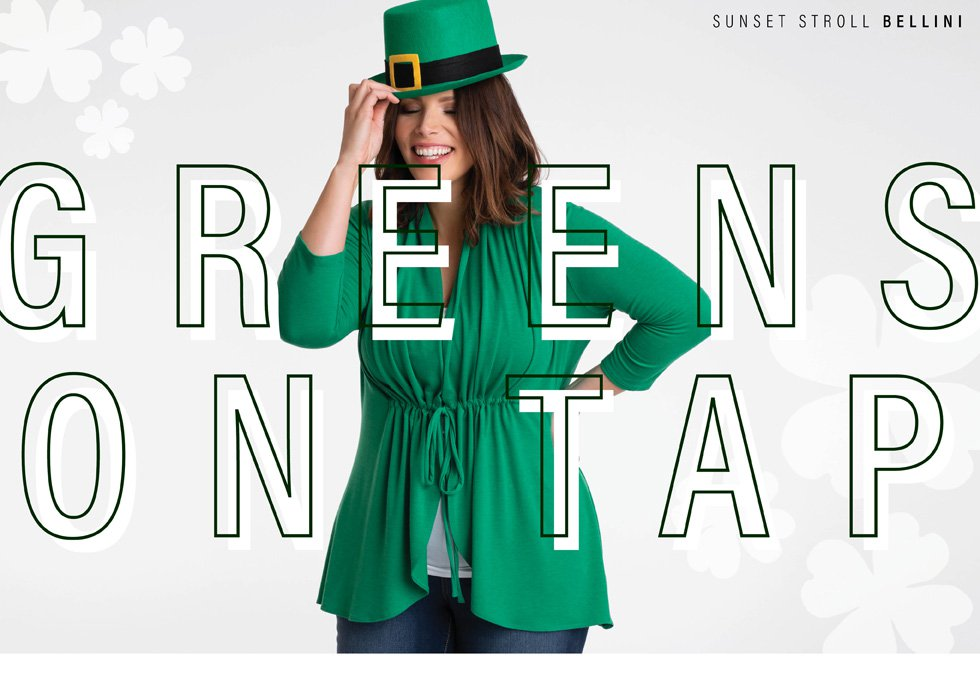 Plus Size Dresses and Tops in Green - Behind the Seams