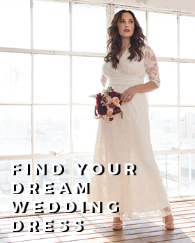 Find your perfect wedding dress in a cinch