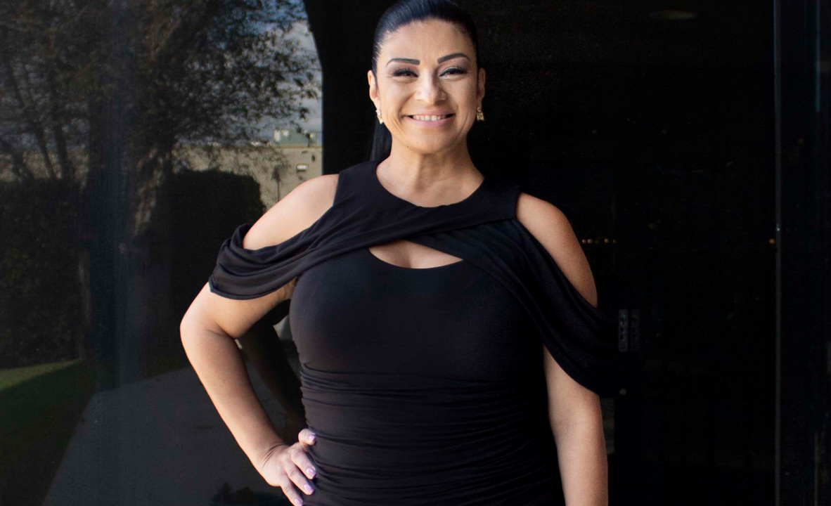 Alma's featured image the Bianca Ruched cocktail dress, plus size 1x