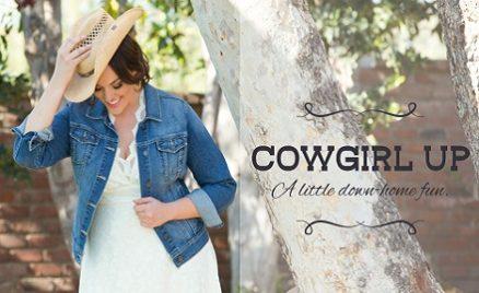 Plus Size Bridal Style Western